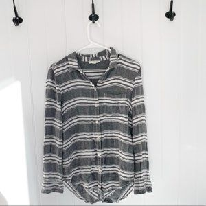 Beachlunchlounge Striped Button Down Size XS
